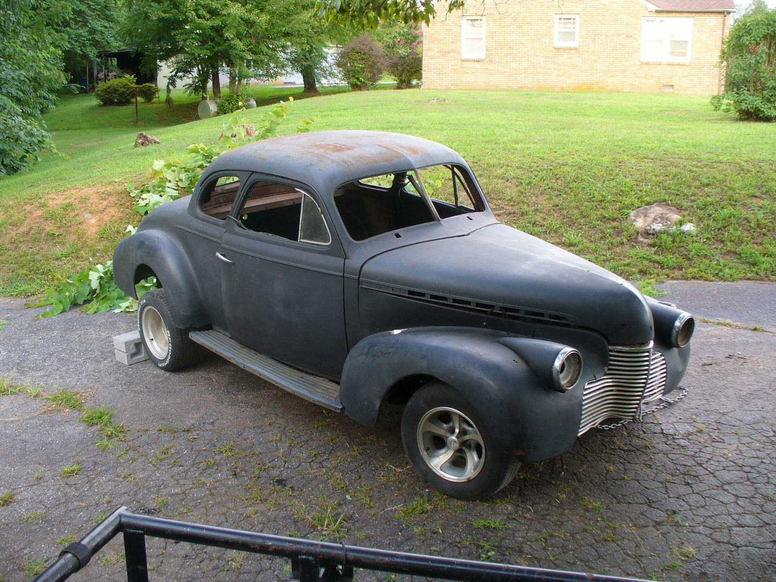 1940 Chevrolet Coupe Project Rat Rod For Sale