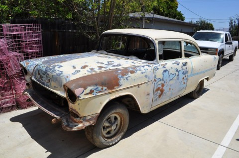 1955 chevrolet bel air 150 210 for sale