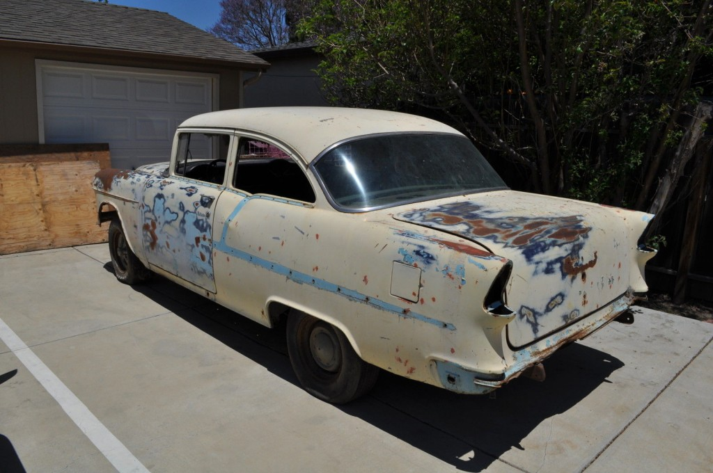 1955 Chevrolet Nomad Unrestored Project Car For Sale