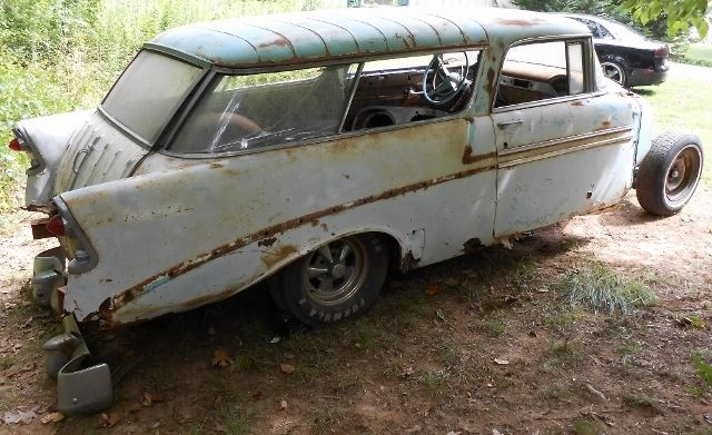 1956 Chevrolet Nomad Bel Air 150 210 For Sale