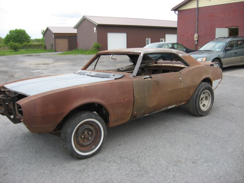1967 chevrolet camaro project for sale. Black Bedroom Furniture Sets. Home Design Ideas