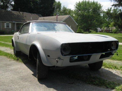 1968 Chevrolet Camaro Numbers Matching Project Car for sale