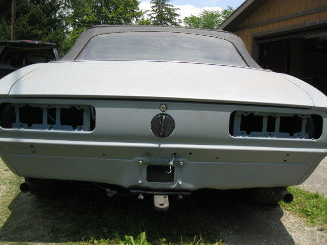 1968 Chevrolet Camaro Numbers Matching Project Car