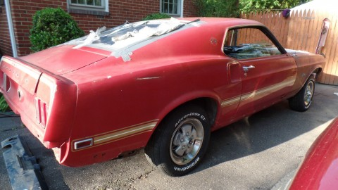 1969 Ford Mustang Mach 1 Q Code 428 Cobra Jet for sale