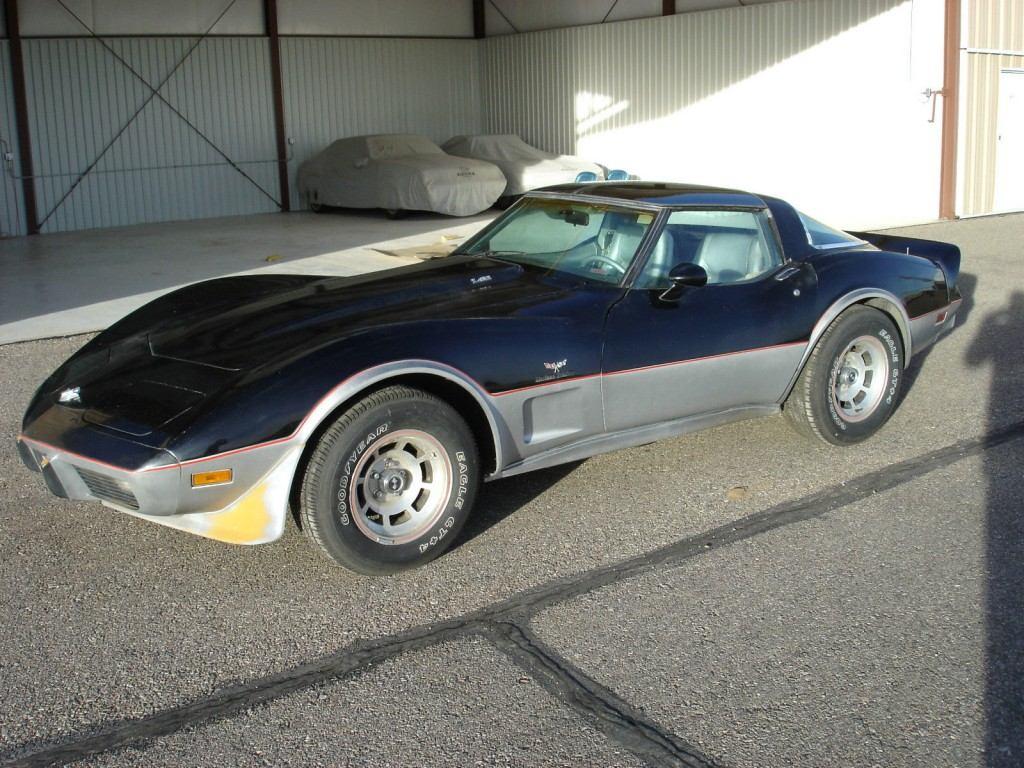 1978 chevrolet corvette indy 500 pace car l82 project car for sale. Black Bedroom Furniture Sets. Home Design Ideas