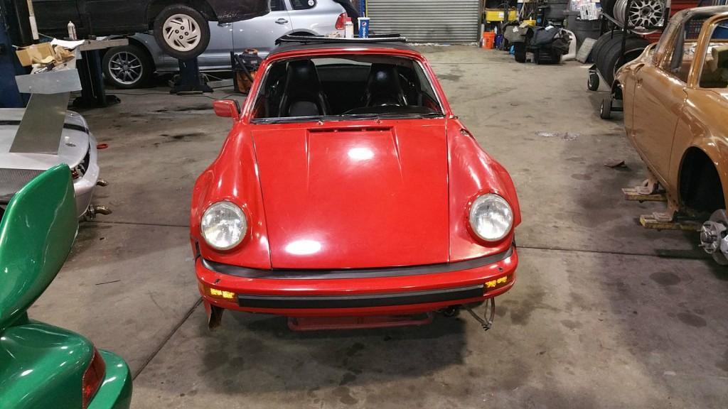 1985 Porsche 911 Convertible