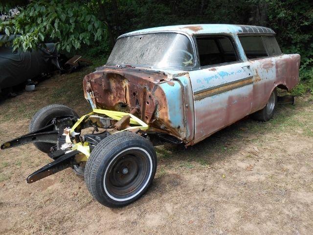 1956 Chevrolet Nomad Resto Rat Rod/Gasser Project
