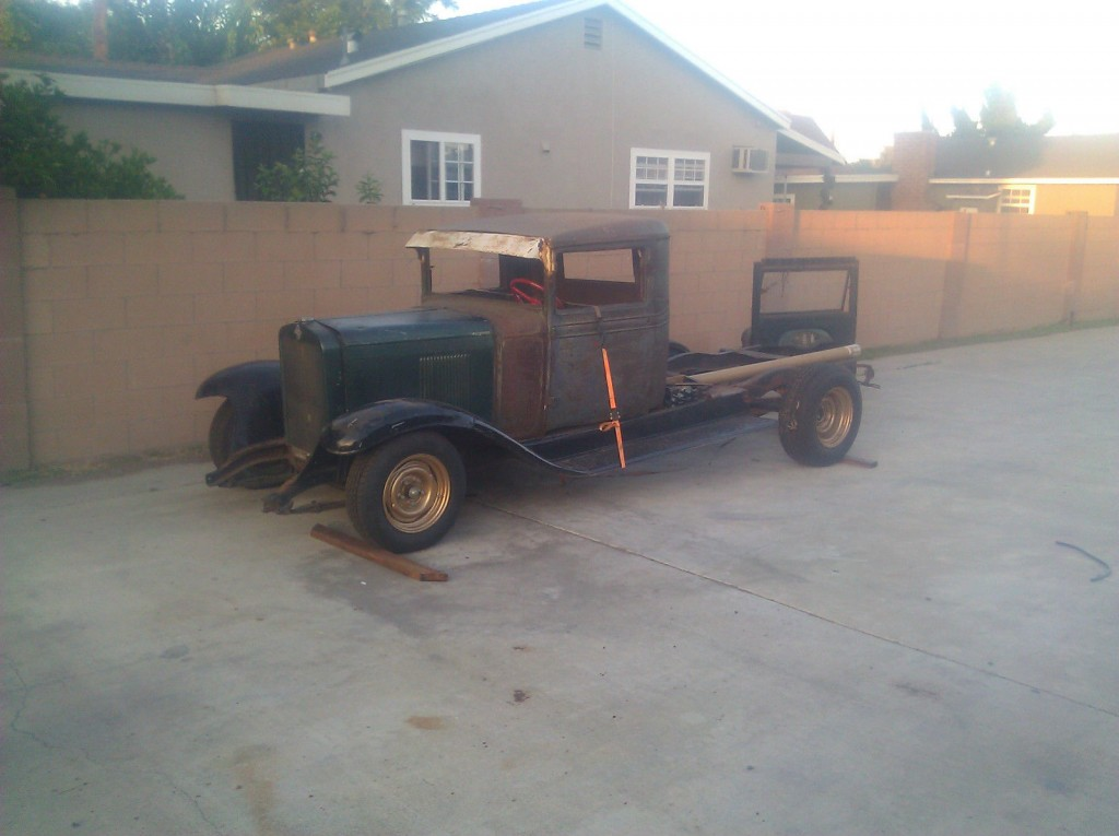1929 Chevrolet 1.5 ton Truck – Project vehicle