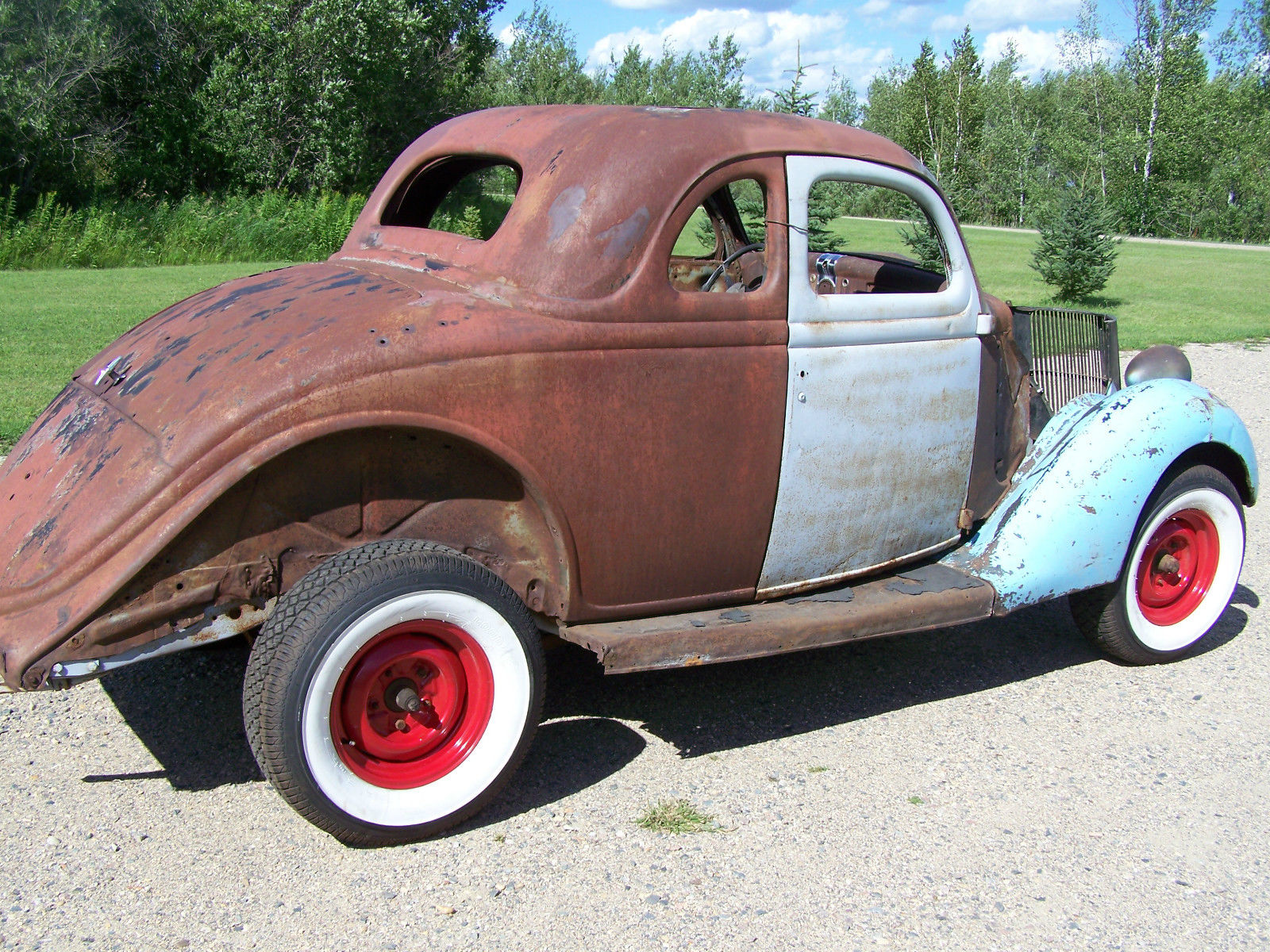 1936 ford 5 window coupe rat rod project car for sale for 1936 ford 5 window coupe for sale