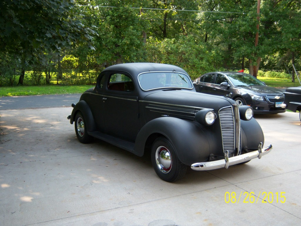1937 Dodge Coupe Street Rod Project Car For Sale