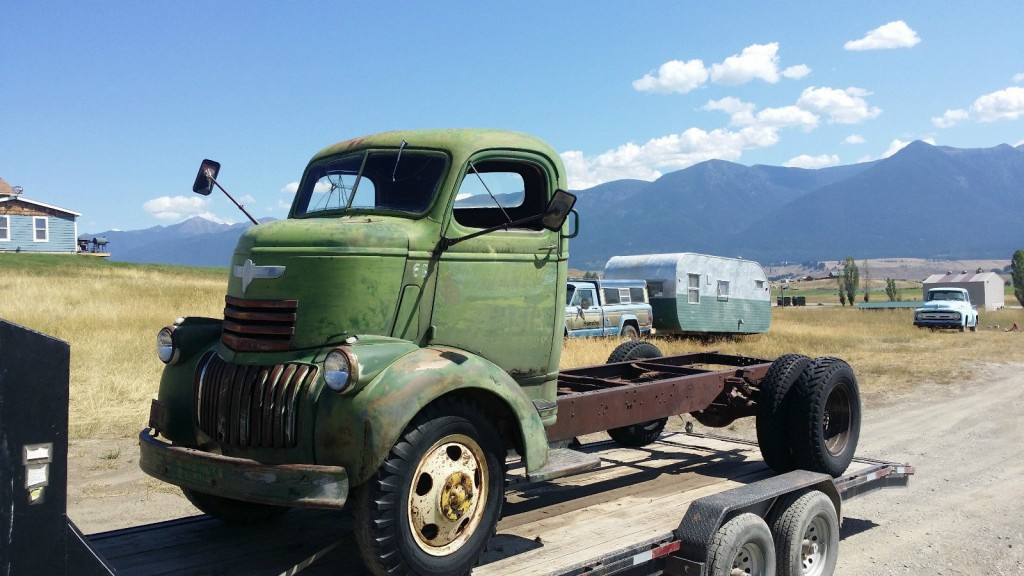 1946 Chevrolet COE Truck | Project cars for sale