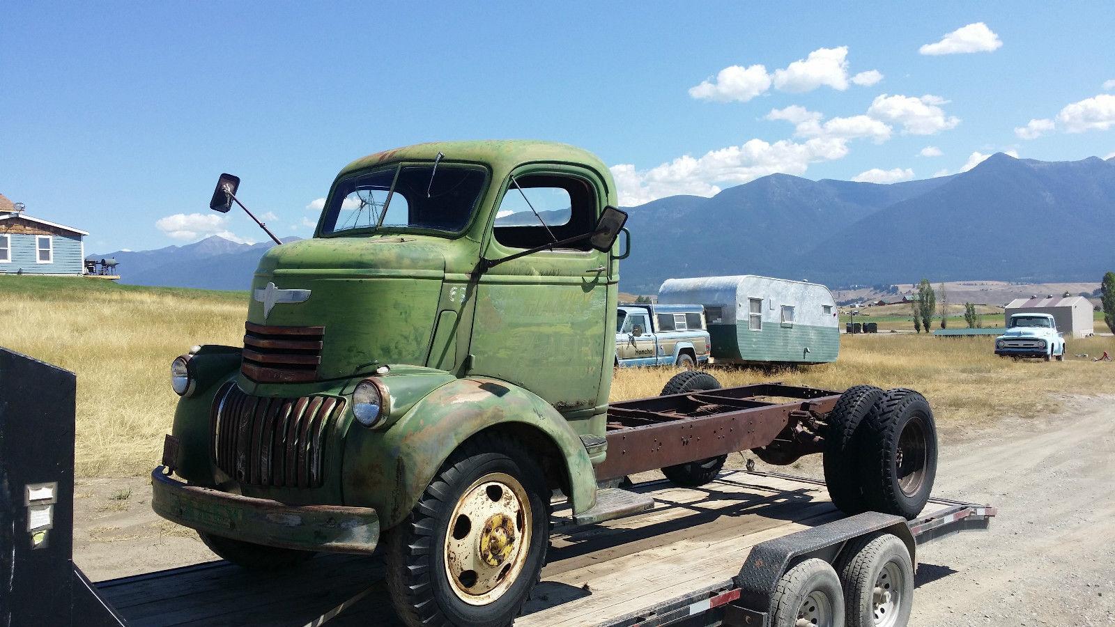 Trucks For Sale: 1946 Chevrolet COE Truck For Sale