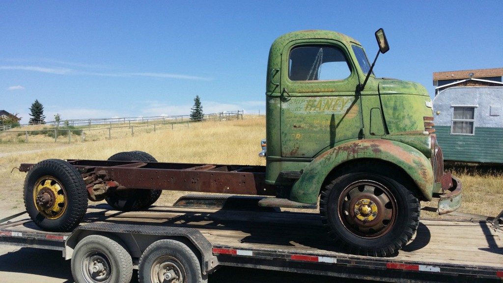 Old Project Cars For Sale >> 1946 Chevrolet COE Truck for sale