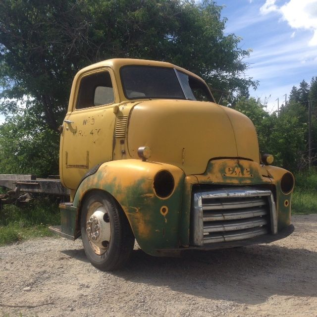 1947 Gmc Coe Cabover Truck Hot Rod Hauler Project For Sale