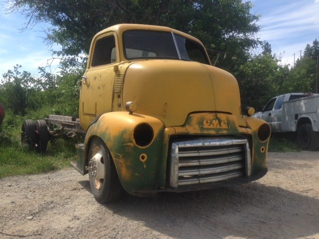 1947 GMC COE Cabover Truck Hot Rod Hauler project