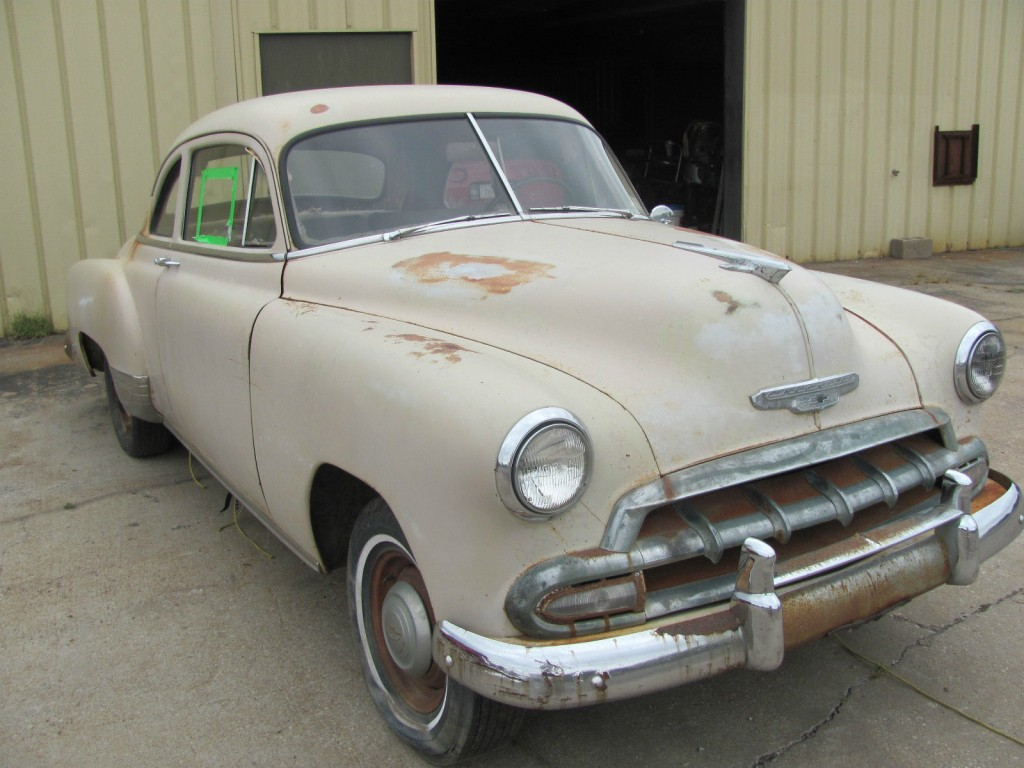1952 Chevrolet Coupe Project Car For Sale