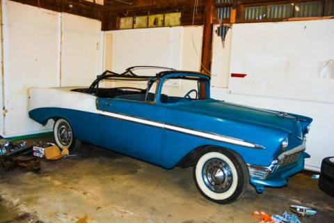 1956 Chevrolet Bel Air/150/210 Bel Air Convertible for sale