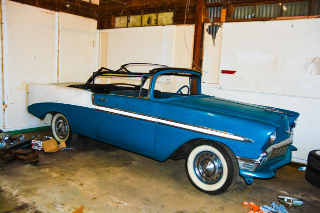 1956 chevrolet bel air 150 210 bel air convertible for sale. Black Bedroom Furniture Sets. Home Design Ideas