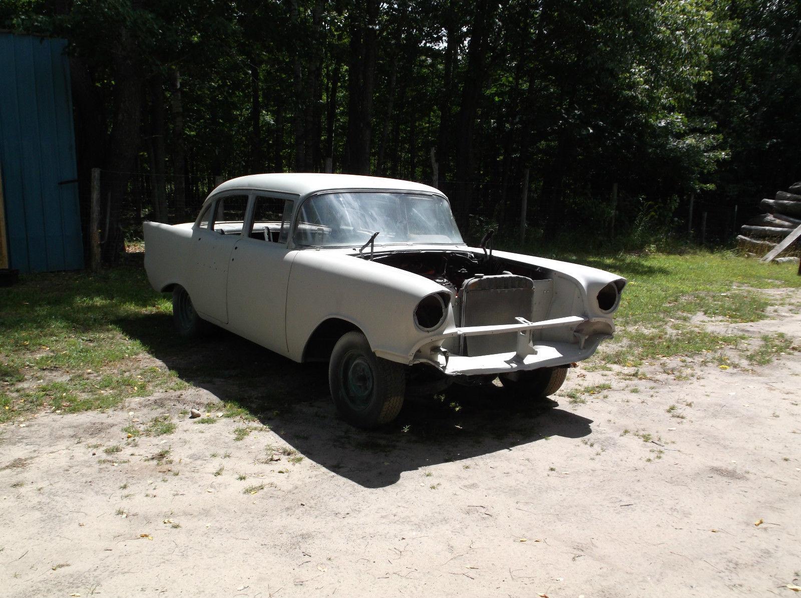 1957 chevrolet bel air 150 210 4 door for sale for Motor cars for sale