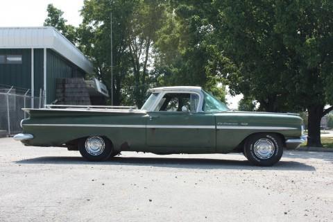 1959 Chevrolet El Camino Patina Street Rod for sale