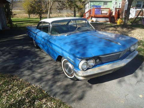 1960 Pontiac Catalina 2 dr coupe for sale