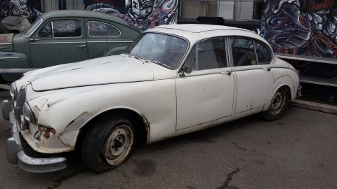 1961 Jaguar Mark II 3.8 Restoration Project for sale