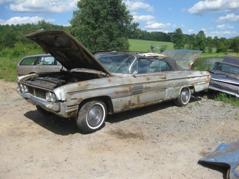1962 Oldsmobile Ninety Eight 98 Convertbile Starfire for sale