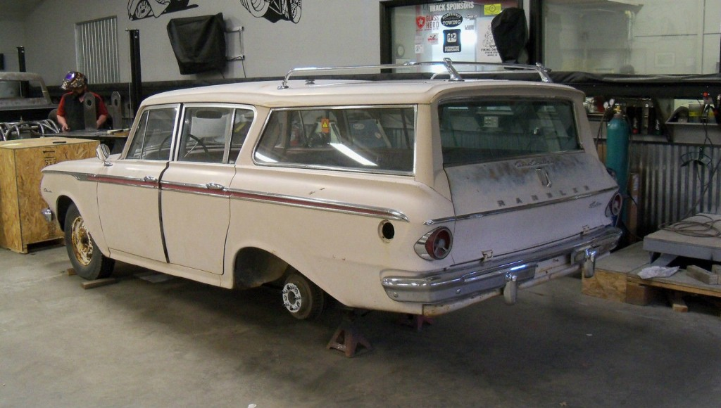 1962 rambler american station wagon for sale