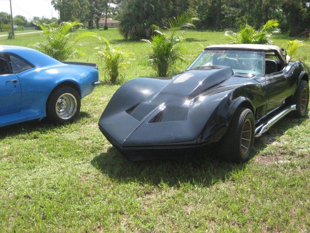 1967 Chevrolet Camaro & 1971 Chevrolet Corvette convertible
