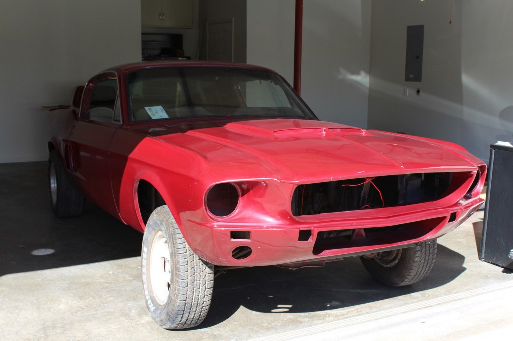 1967 ford mustang fastback shelby recreation project for sale. Black Bedroom Furniture Sets. Home Design Ideas