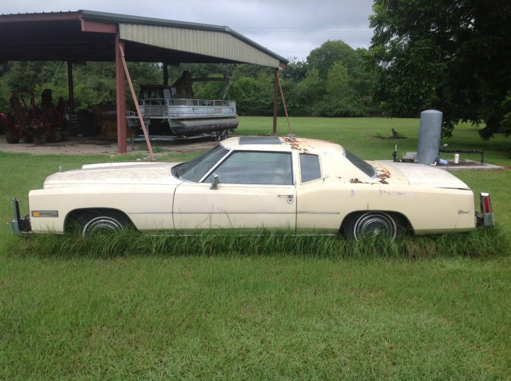 1976 Cadillac Eldorado Project Car