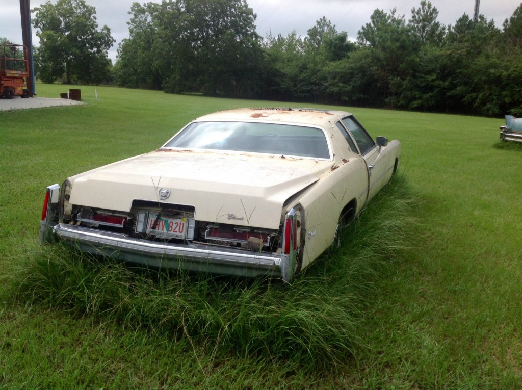 1976 cadillac eldorado project car for sale. Black Bedroom Furniture Sets. Home Design Ideas