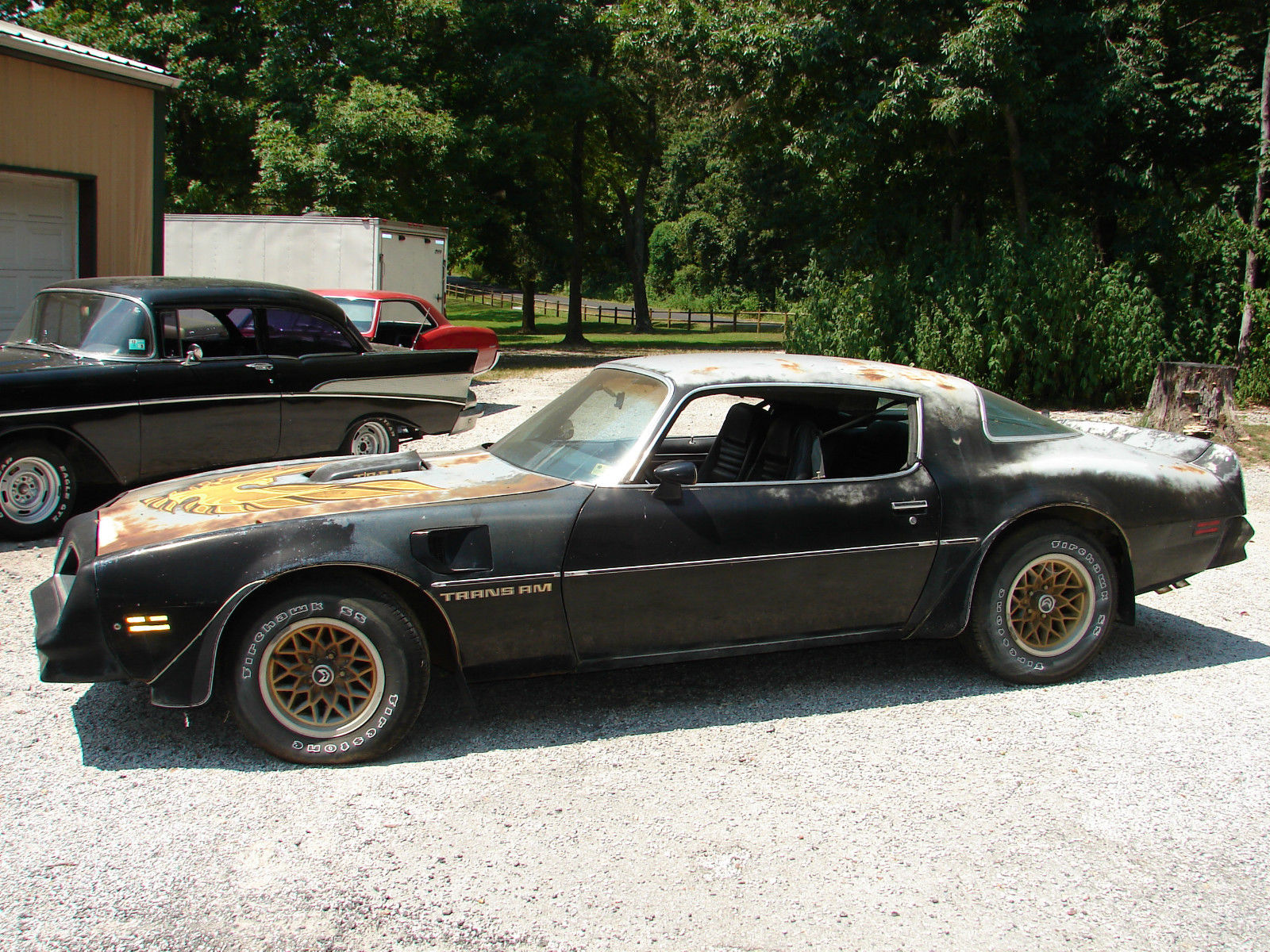 1978 Pontiac Trans Am on camaro bandit car