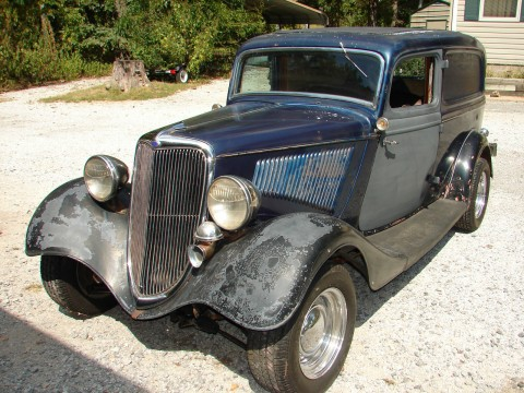 1934 Ford Sedan Delivery, 80's Hot Rod for sale