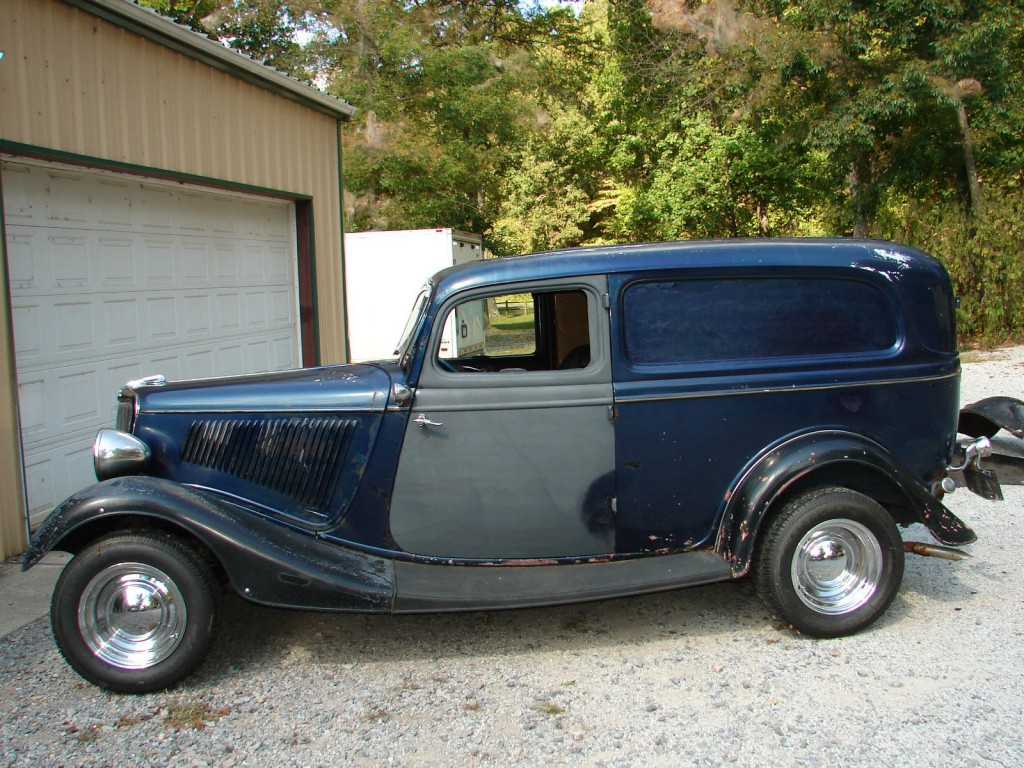 1934 ford sedan delivery 80 s hot rod for sale for 1934 ford 3 window coupe project for sale
