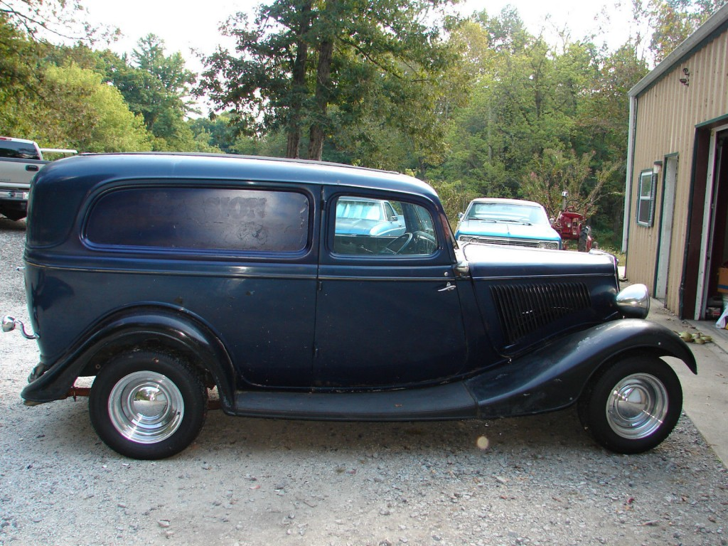 1934 Ford Sedan Delivery, 80's Hot Rod | Project cars for sale