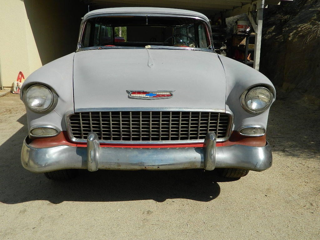 1955 Chevrolet Nomad Unrestored Project Car