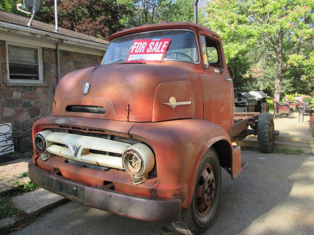1956 Ford COE Project Ramptruck Custom Pickup car for sale