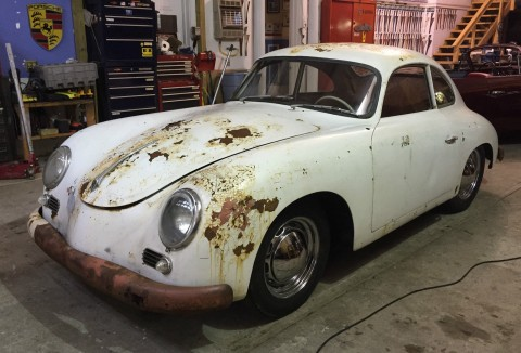 1956 Porsche 356 A Coupe Project for sale