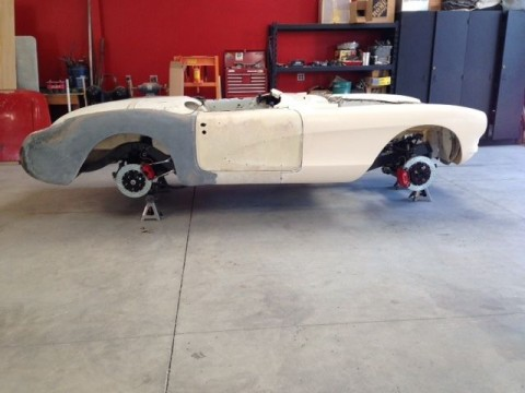 1957 Chevrolet Corvette Restomod Project Paul Newman Frame for sale