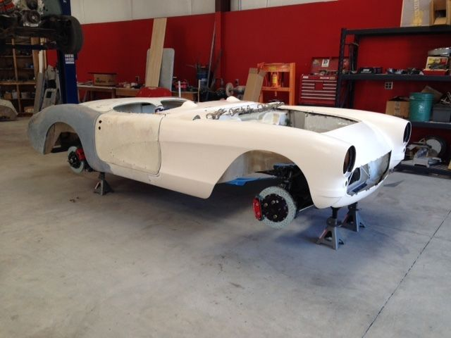 1957 Chevrolet Corvette Restomod Project Paul Newman Frame
