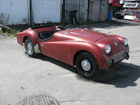 1958 Triumph TR3A Project car for sale