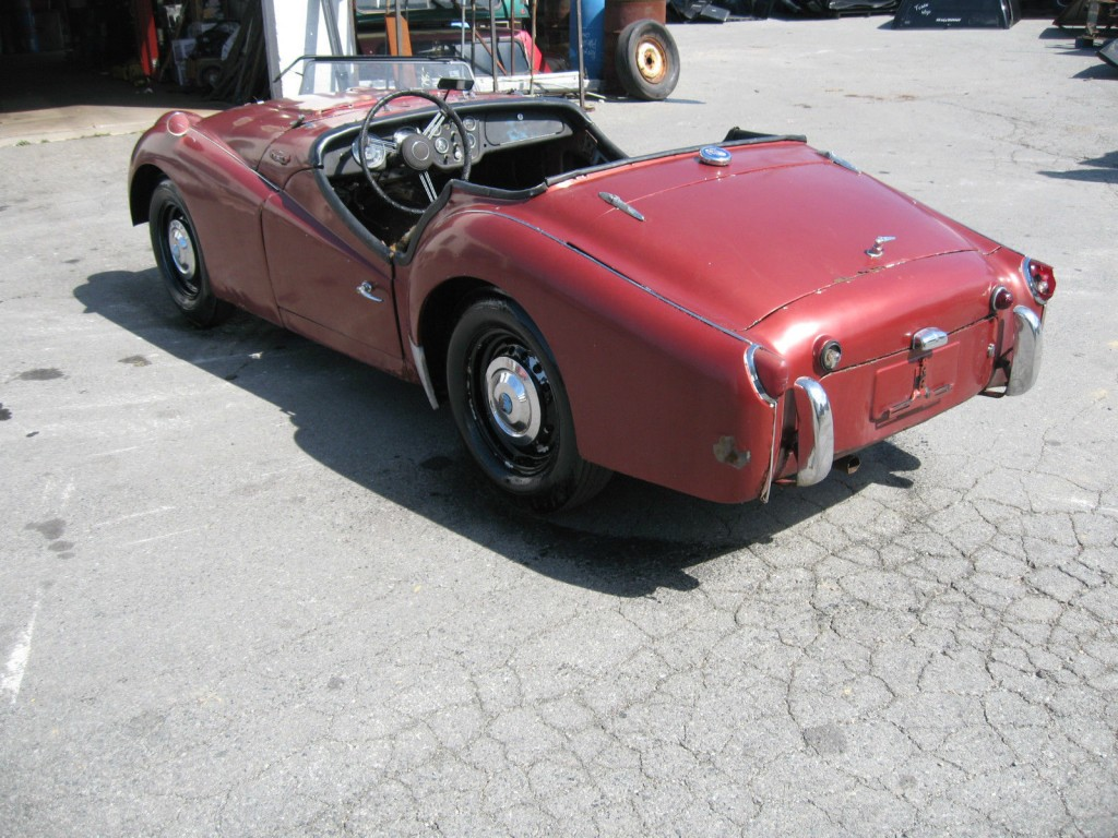 1958 Triumph TR3A Project car