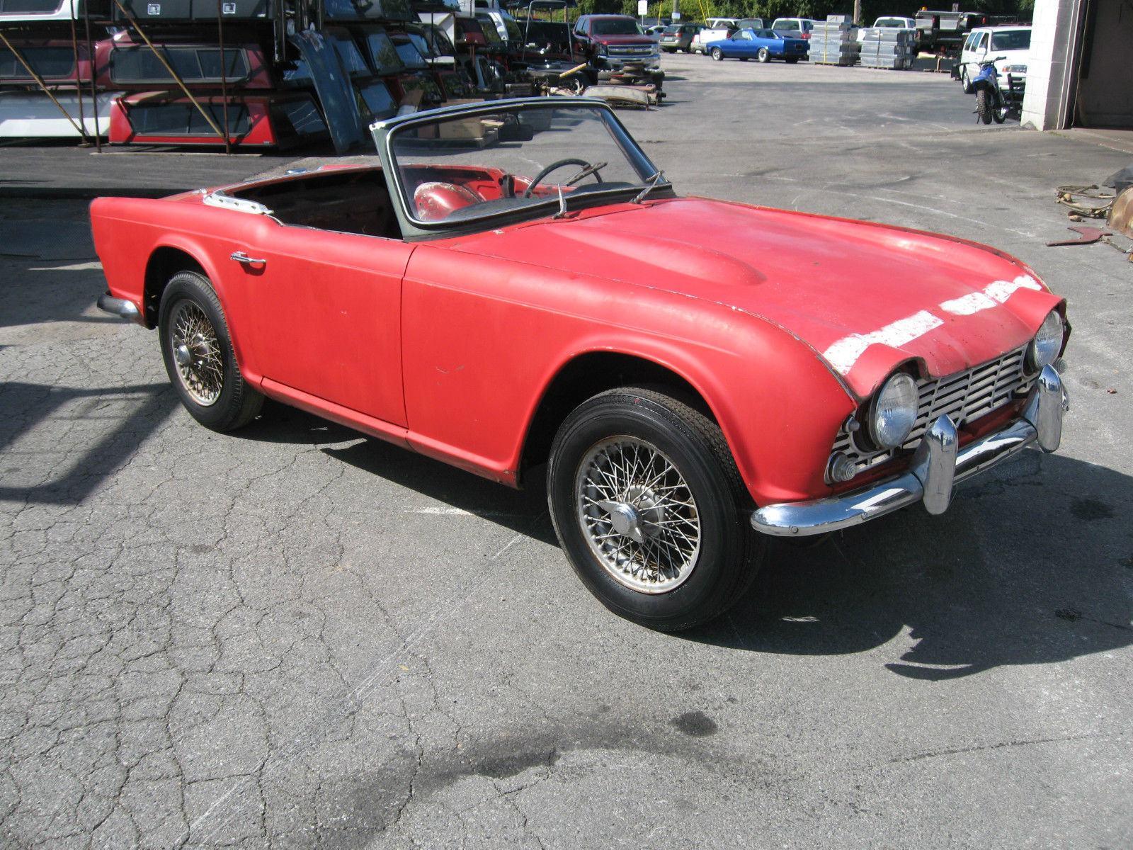 1961 triumph tr4 project car for sale for Triumph motor cars for sale