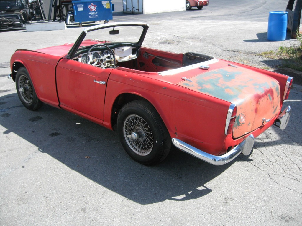 1961 Triumph TR4 Project Car
