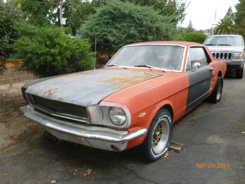 1965 Ford Mustang Coupe Project