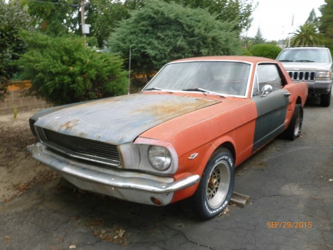 1965 Ford Mustang Coupe Project for sale