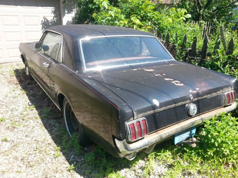 1966 Ford Mustang 1966 2 dr coupe for sale
