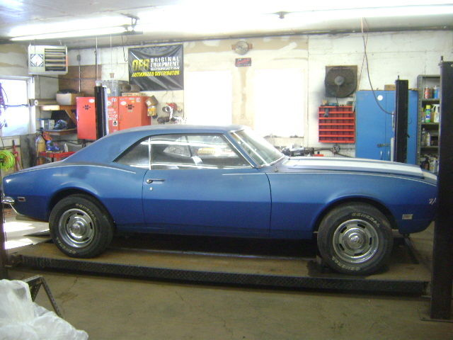 1968 Chevrolet Camaro Z28 Barn Find