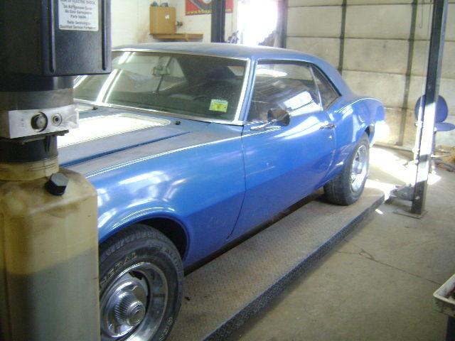 1968 Chevrolet Camaro Z28 Barn Find